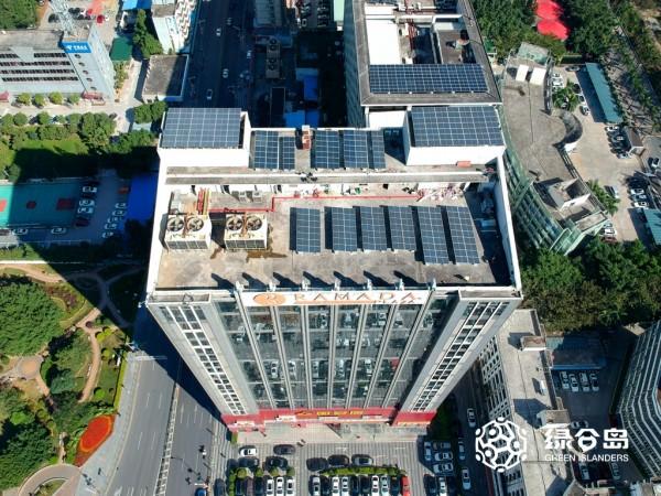 深圳民冶酒店131KW商业屋顶光伏项目