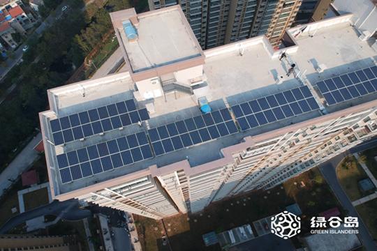 湖北安陆德安中央公园80KW屋顶光伏发电项目
